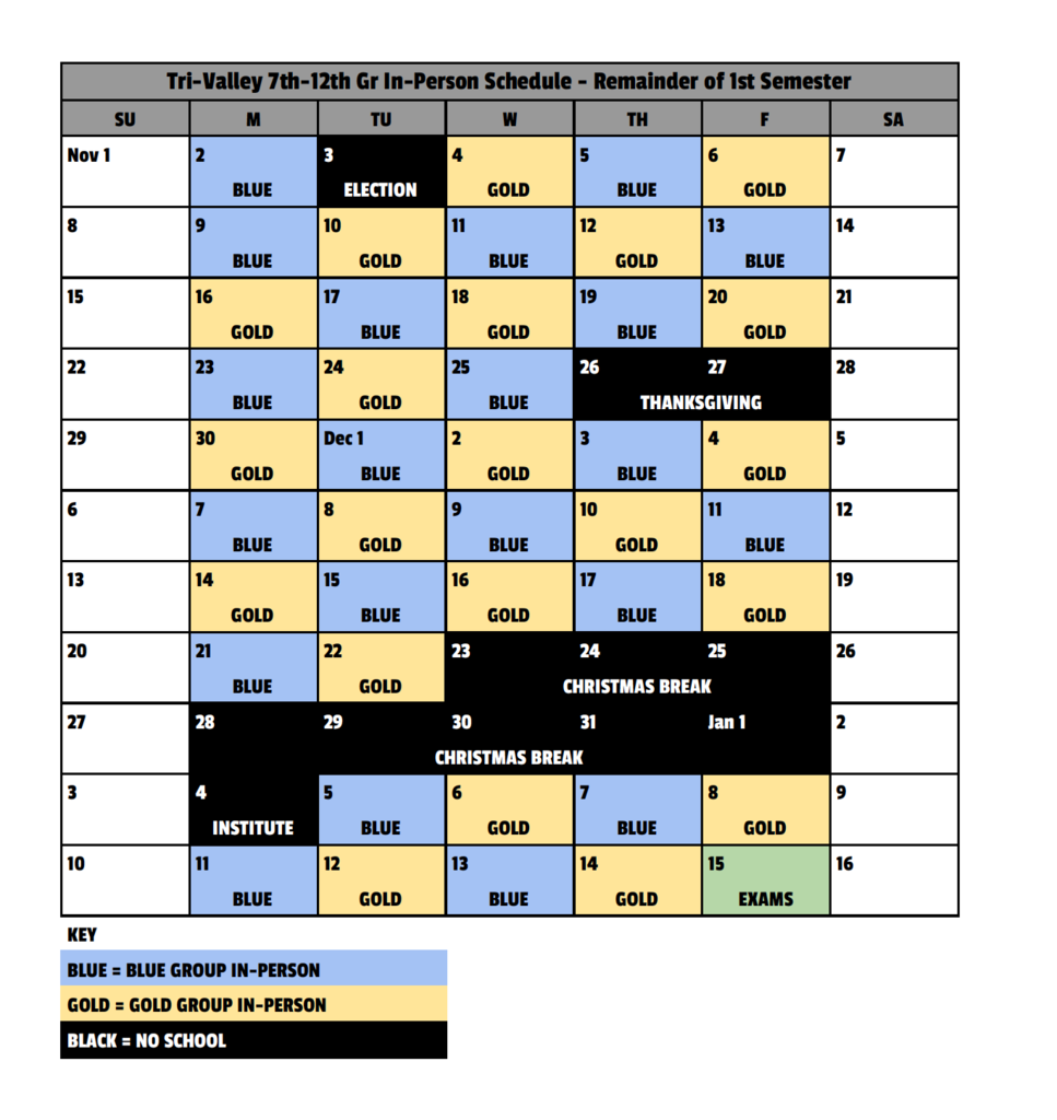 7-12 In-person Schedule