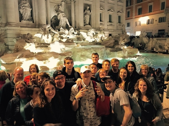 Trevi Fountain - Italy 2018
