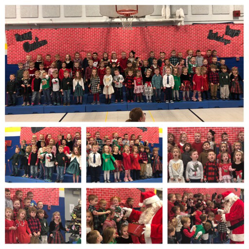 Little Vikings School Christmas Program-with a surprise visit from Santa!