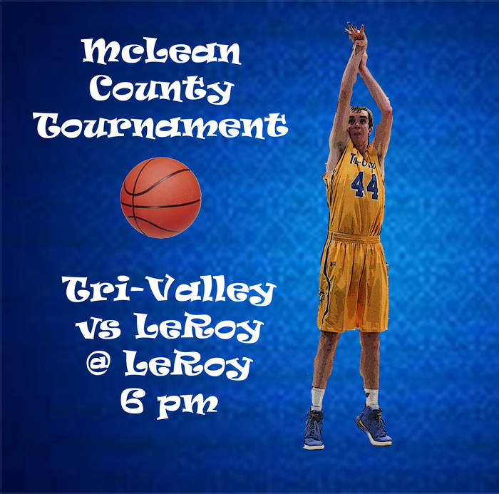 Jan 24 County - Boys vs LeRoy 6pm