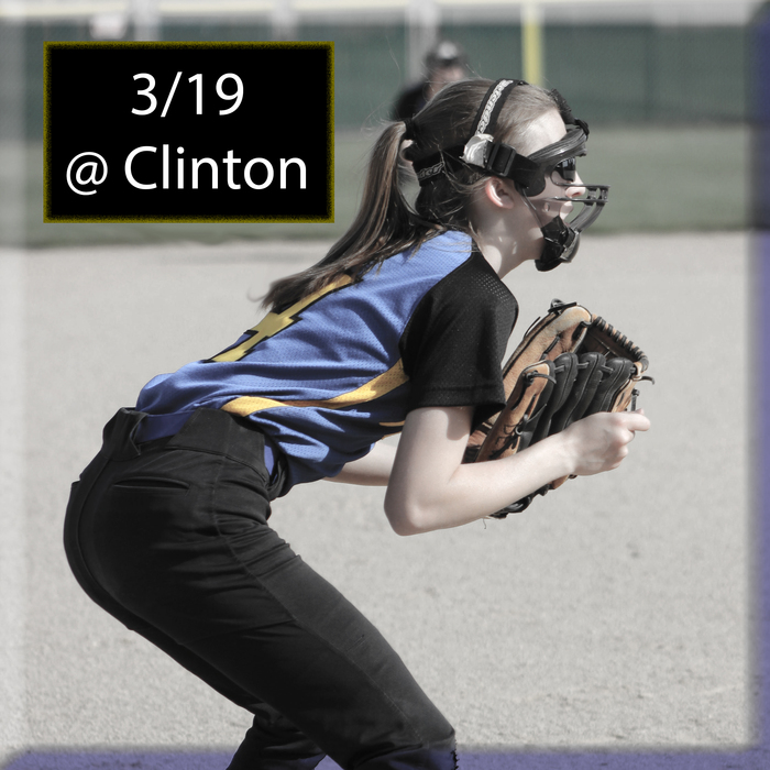 Softball @ Clinton