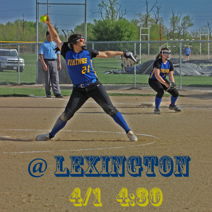 Softball Lexington April 1