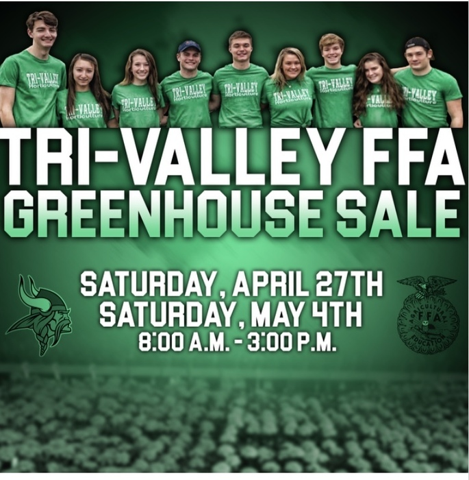 FFA Green House Sale