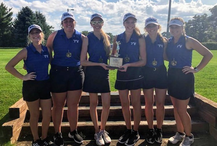 Girls Golf 2019 HOIC Team Champs!