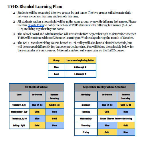 Blended Learning Plan